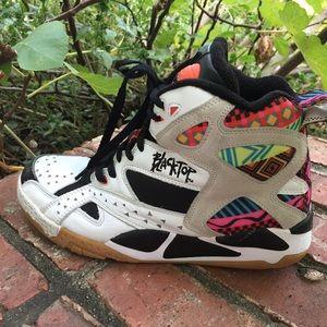 Reebok Battleground  Blacktop Tribal Sneakers Sz 9